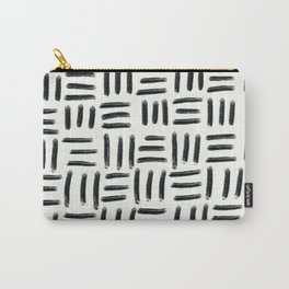 Three Stripes Pattern Carry-All Pouch