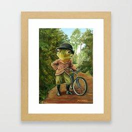 Sunday Ride Framed Art Print