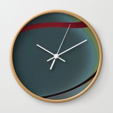 Shapes of  a woman Wall Clock