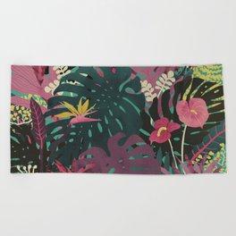 Tropical Tendencies Beach Towel