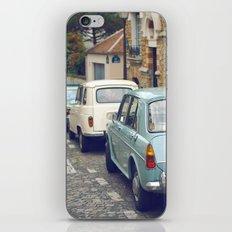 Vintage Parisian Streets iPhone & iPod Skin