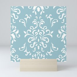 Elegance - blue Mini Art Print