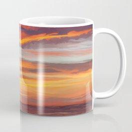 Dreamy Island Sunset Coffee Mug