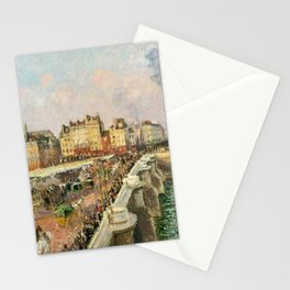 """Camille Pissarro """"Afternoon Sunshine, Pont Neuf"""" Stationery Cards"""