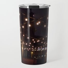 Alleyway String Lights Travel Mug