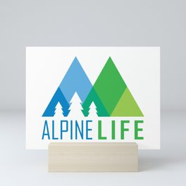 Alpine Life Mini Art Print