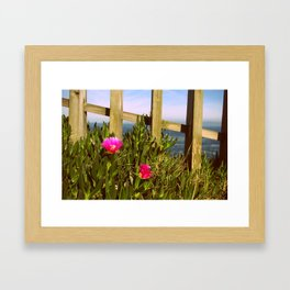 Ocean Feeling Framed Art Print