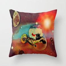 SPACE TURTLE VII - 202 Throw Pillow