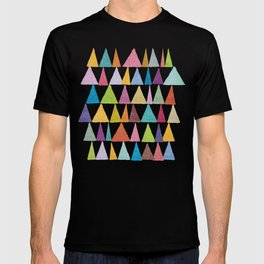 Analogous Shapes In Bloom. T-shirt