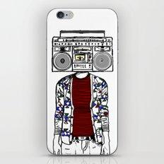 Radio daze iPhone & iPod Skin