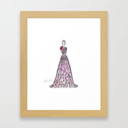 Elie Saab Gown Framed Art Print