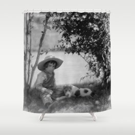 My Buddy and Me Shower Curtain