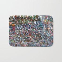 Gum Wall Bath Mat