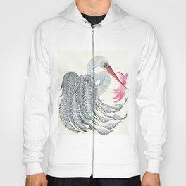 Baby Girl Stork Hoody