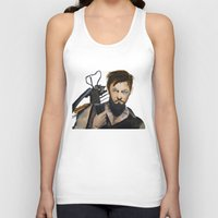 daryl Tank Tops featuring Daryl by Brittany Ketcham