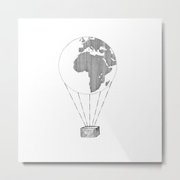Just Fly Metal Print