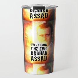 Bashar Assad Is Evil Travel Mug