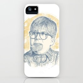 OH FUDGE RALPHIE! iPhone Case