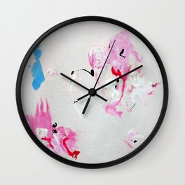 Cy in the Sky - The Copy is a Homage Wall Clock