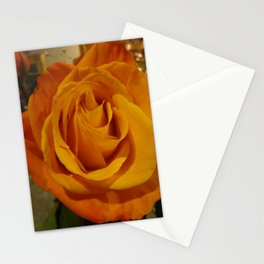 Peach Rose Stationery Cards