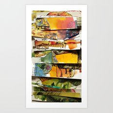 comic strips 4 Art Print