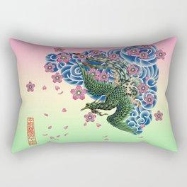 Tattoo Fenghuang Rectangular Pillow