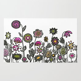 FLOWER GARDEN Rug
