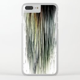 Planet Pixel Dust Up Clear iPhone Case