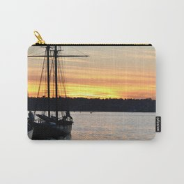 SHIPS AT SUNSET Carry-All Pouch