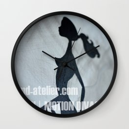 Miki | Motion Divas – Direction Wall Clock