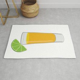 Tequila Shot Illustration Rug