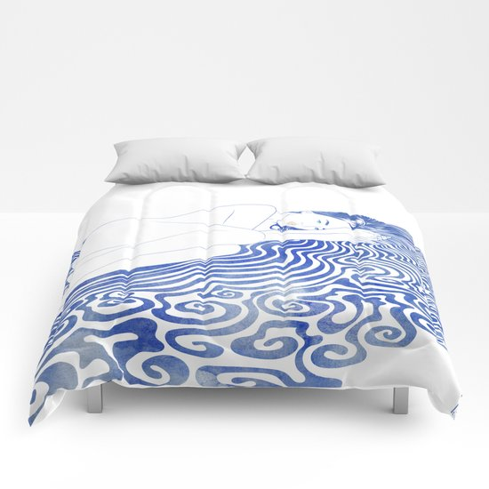 Water Nymph XXVIII Comforters