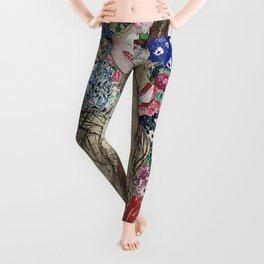 PORTRAIT OF RIA MUNK - GUSTAV KLIMT Leggings