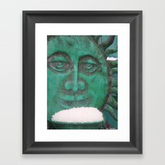 Fresh Snow Framed Art Print