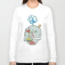 Whale's Belly Long Sleeve T-shirt