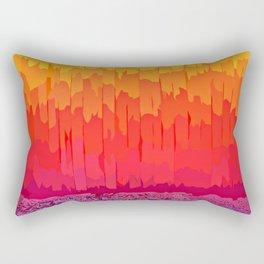 Fire Splash Rectangular Pillow