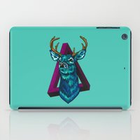 stag iPad Cases featuring Stag   by Cristina Moore