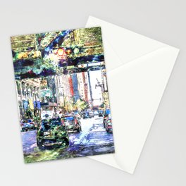 Scenes In The City Stationery Cards