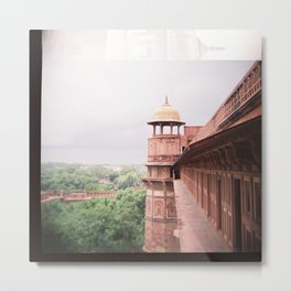 Agra Fort on Diana F+ Metal Print