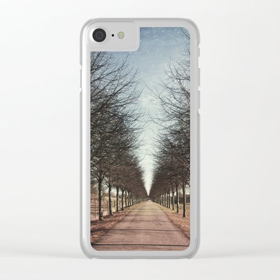 Danish road Clear iPhone Case