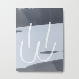 Mew Face lake Metal Print