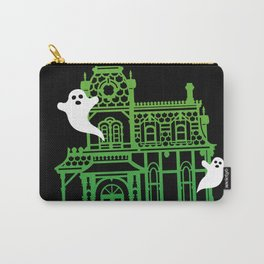 Haunted Victorian House Carry-All Pouch