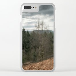 Along the Ridge Clear iPhone Case