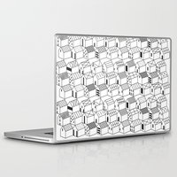 architect Laptop & iPad Skins featuring Architect and Little Houses by lllg