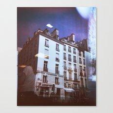 Paris Holga, Le Marais Canvas Print