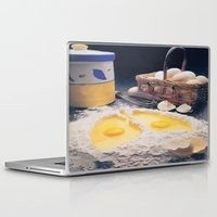 eggs Laptop & iPad Skins featuring Eggs by Richard McGee