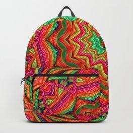 3D color kaleidoscope plus Backpack