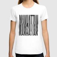 manhattan T-shirts featuring Manhattan by Hoods