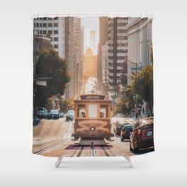 San Francisco, California Shower Curtain