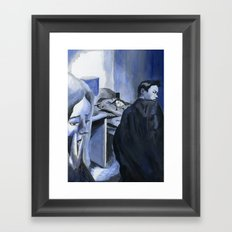 Heart of the Detective Framed Art Print
